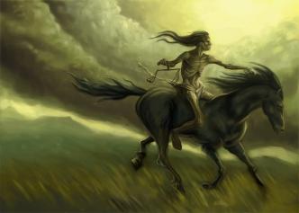Horseman Famine